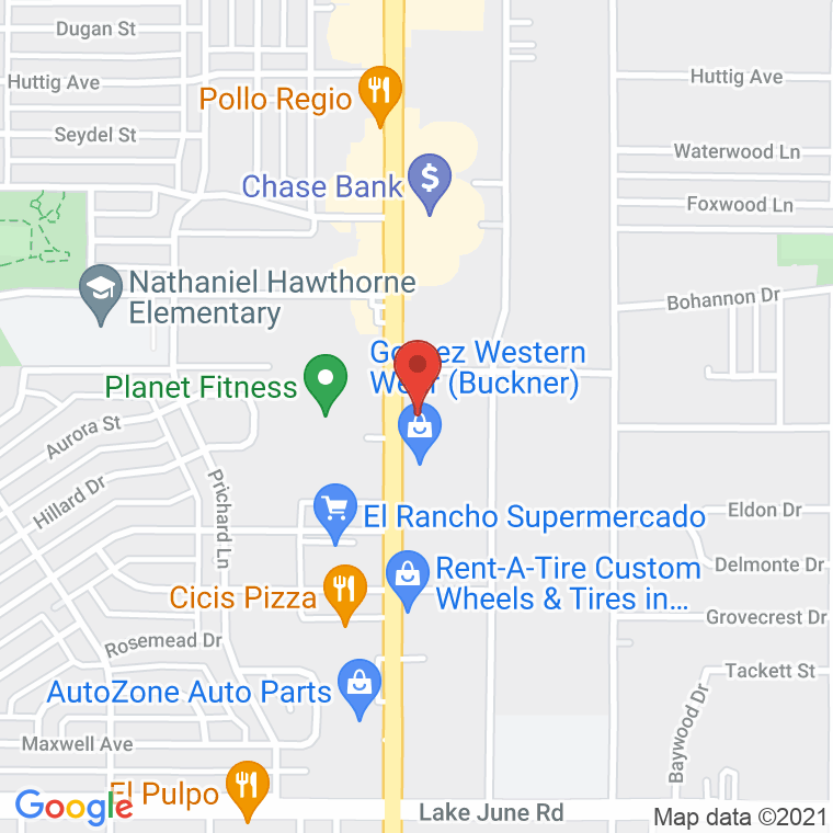 smile-magic-of-dallas-buckner-south-buckner-boulevard-dallas-tx-usa-map